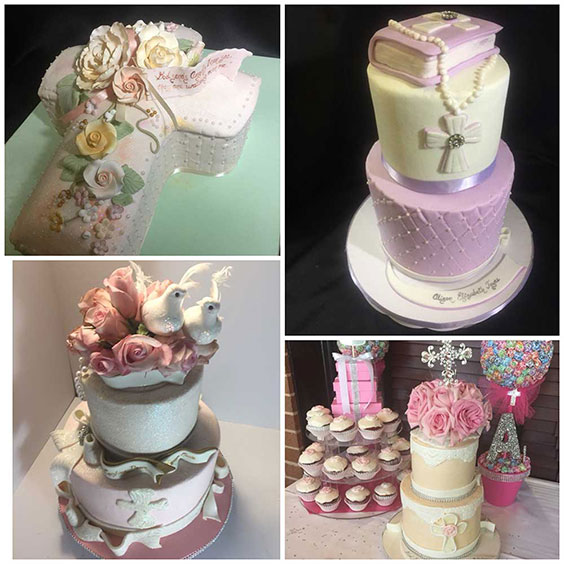 Religious Designed Cakes and Cupcakes